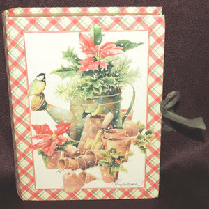 Nature's Sketchbook Christmas Memory Photo Box